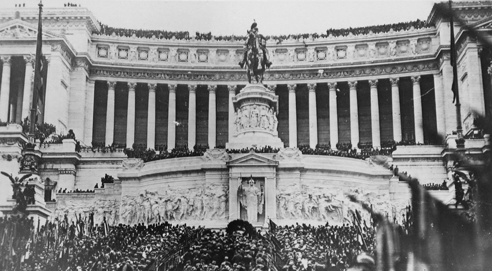 cerimonia tumulazione milite ignoto 1921